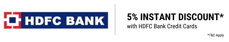 HDFC Bank | 5% Instant Discount with HDFC Bank Debit/Credit Cards