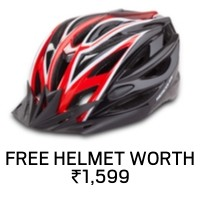 Free Helmet Offer