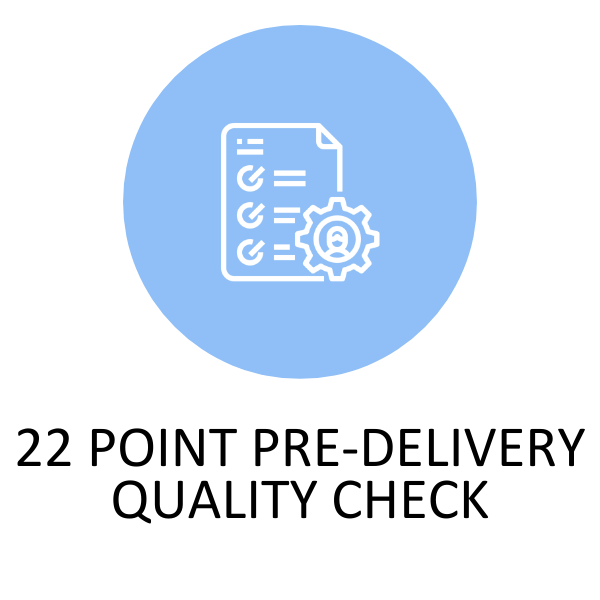 22 Point Pre Delivery Quality Check List