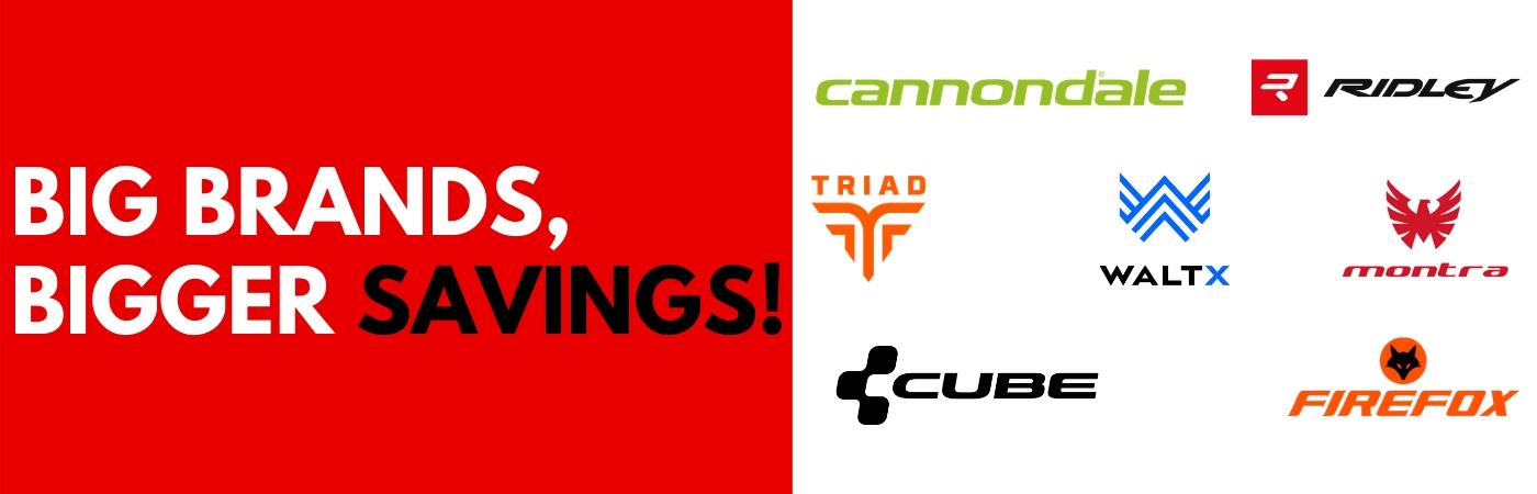 ChooseMyBicycle | Big Brands, Bigger Savings!